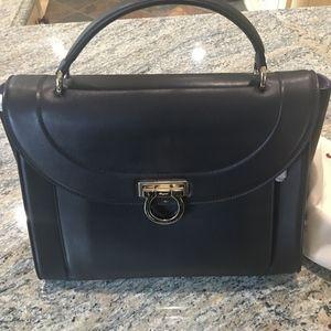 16a114d7e9 Salvatore Ferragamo Medium Rainbow Top-Handle Bag